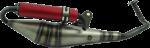 Uitlaat Terugloop Kymco GY6 4-Takt-0